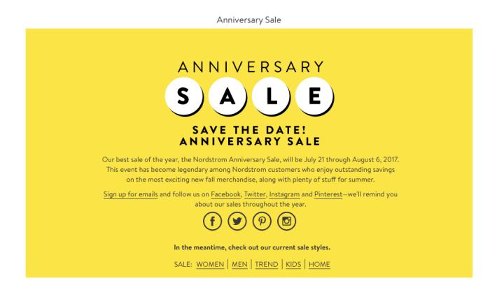 My Nordstrom Anniversary Sale ShoppingCart